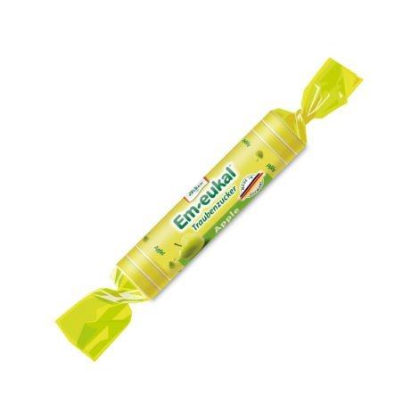 Roll pastillas de glucosa - Manzana