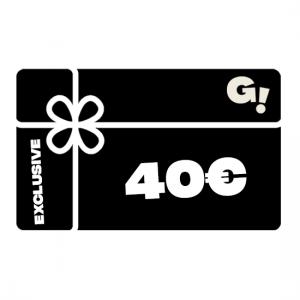 TARJETA REGALO G! CARD EXCLUSIVE - 40€